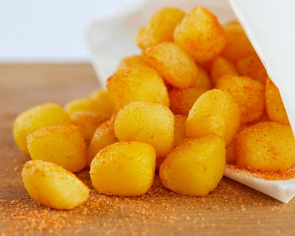 Gekruide aardappeltejs klein